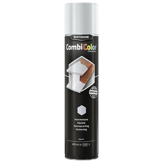 Hammerlak spray 400 ml sølv mat
