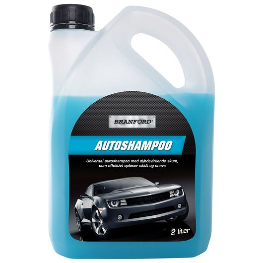 BRANFORD - Autoshampoo med voks 2 liter
