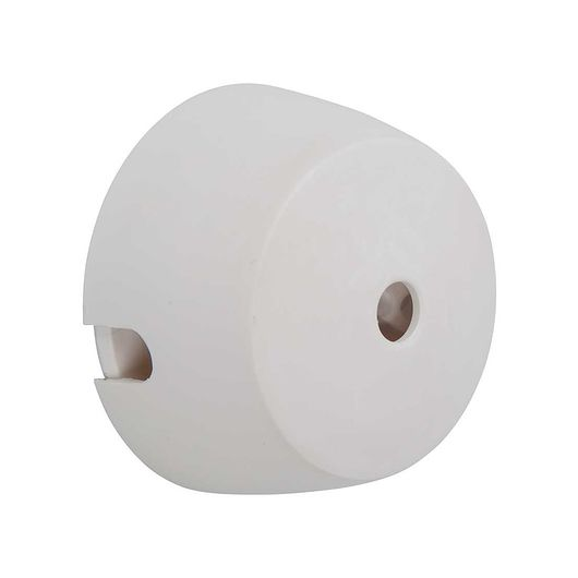 Pendelroset mini Ø. 55 mm hvid