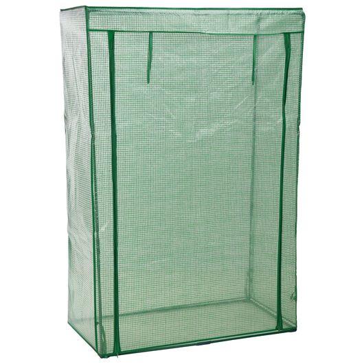 Minidrivhus plast høj - H. 150 x B. 100 x D. 50 cm
