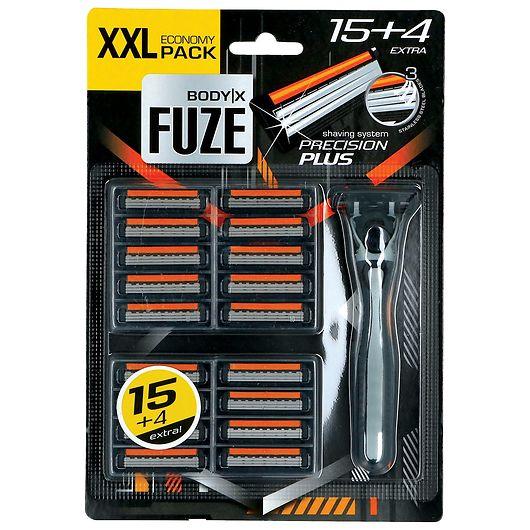 Body-X Fuze skraber og blade