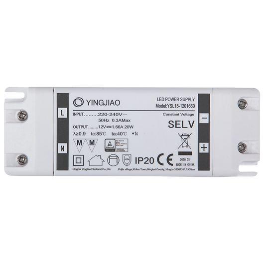 Strømforsyning LED 12V 20W