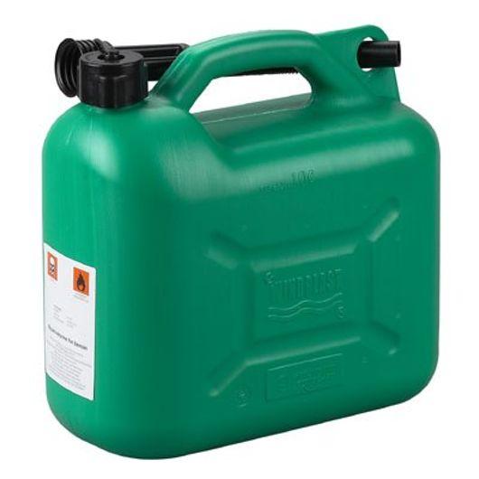 Benzindunk grøn blyfri 10 liter
