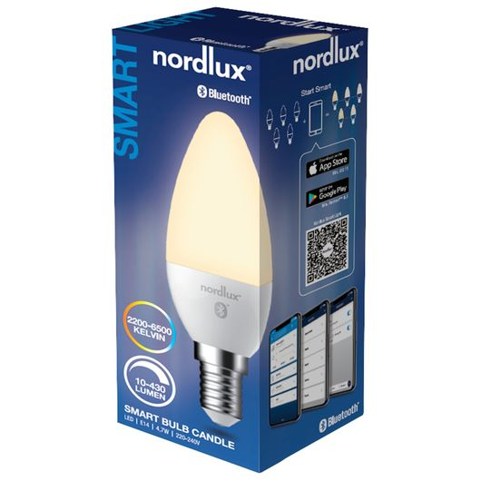 Nordlux Smart Light LED-pære 4,7W E14