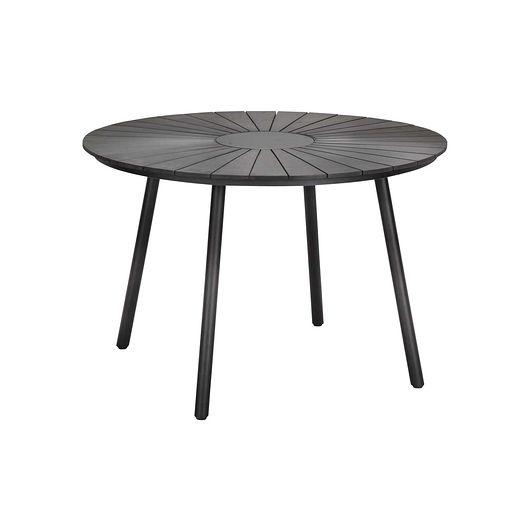 Bord Ø. 110 cm sort Non-Wood