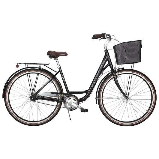 "Busetto - 28"" shoppercykel - sort"