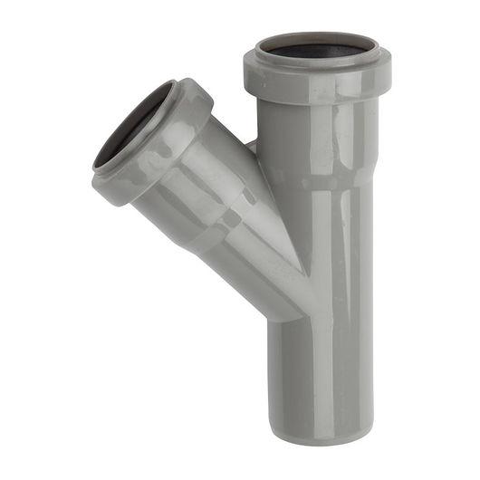 Wavin - PP grenrør 50/50 mm x 45°