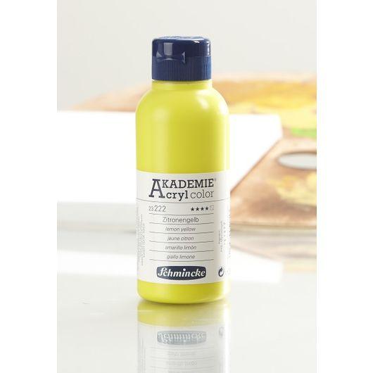 Schmincke - Akryl 250 ml - citrongul