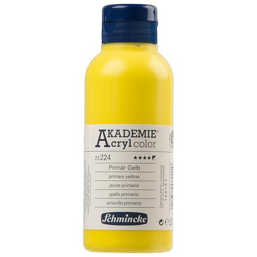 Schmincke - Akryl 250 ml - primær gul