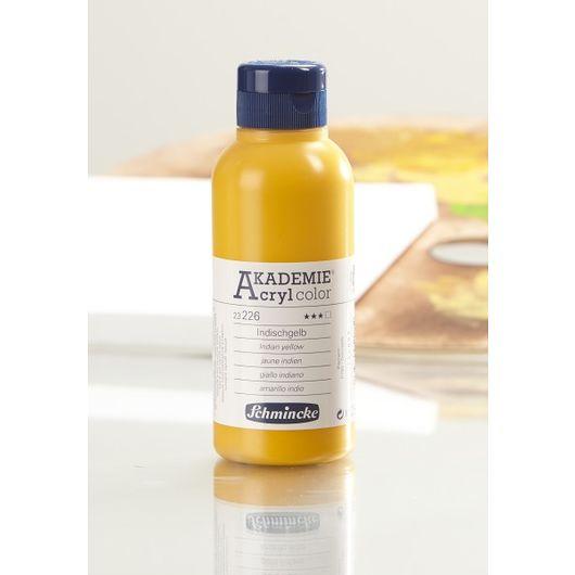 Akryl 250 ml indisk gul