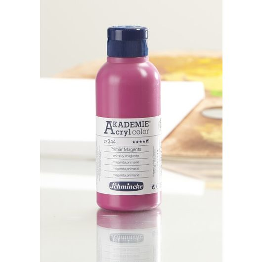Schmincke - Akryl 250 ml - primær magenta