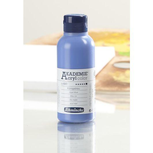 Schmincke - Akryl 250 ml - kongeblå