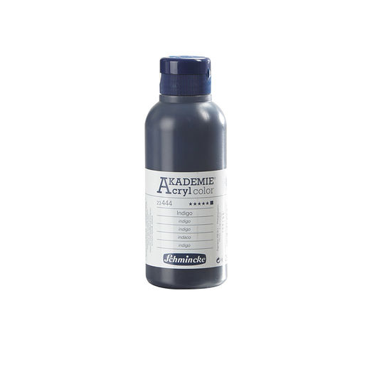 Schmincke - Akryl 250 ml - indigoblå