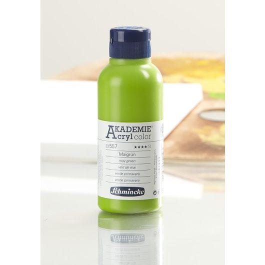 Akryl 250 ml majgrøn