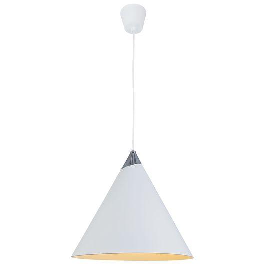 BRIGHT DESIGN - Metalpendel Ø. 30 cm - hvid