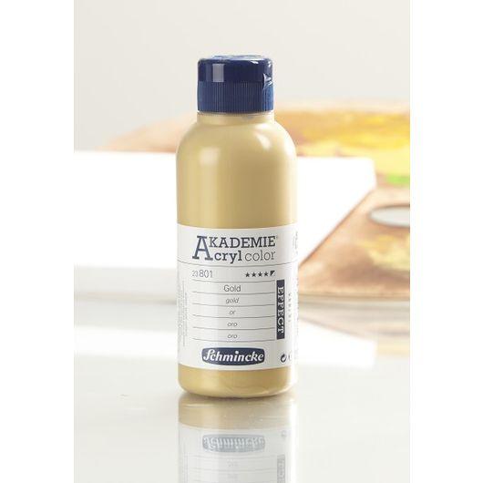 Schmincke - Akryl 250 ml - guld