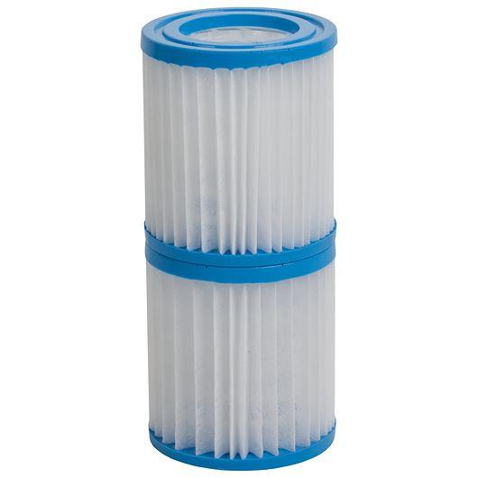 Filterpatron til poolpumpe - 2 stk