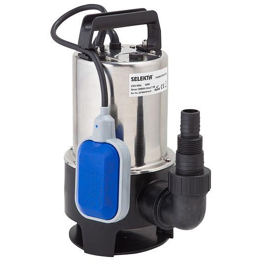 Selekta - Grundvandspumpe rustfri - 550 W