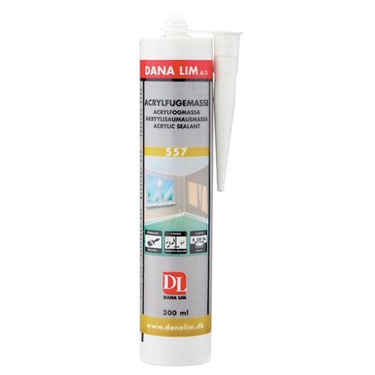 DANA LIM - Akrylfugemasse hvid 300 ml