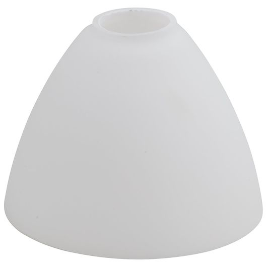 Glasskærm til Roma-lampe - hvid