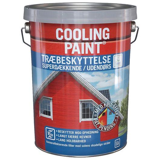 Coolingpaint heldækkende hvid 5 L