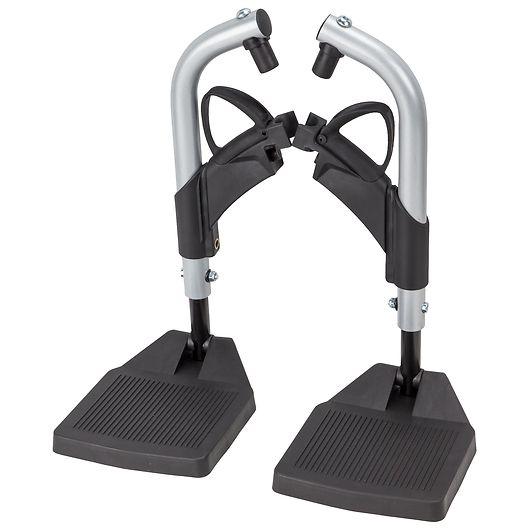 Fodstøtteholder til kørestol 1 sæt