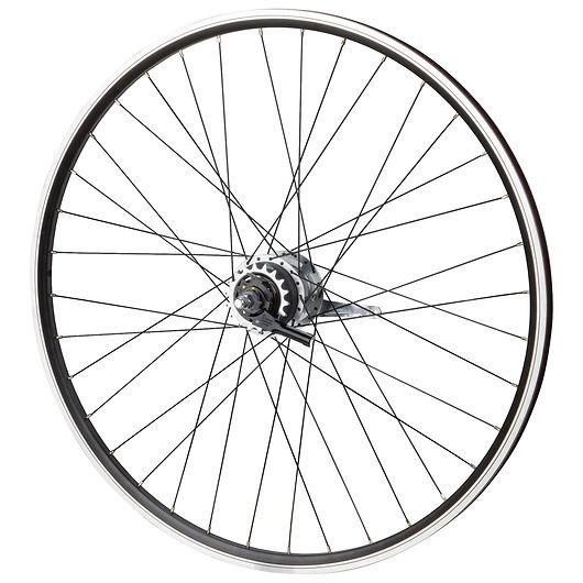 """Baghjul uden dæk til 28"""" City Trekking-cykel"""