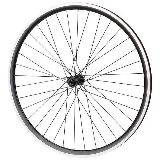Forhjul uden dæk til hybridcykel