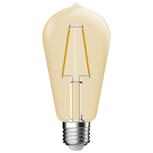 Cosna LED-filamentpære 5,4W E27 ST64 - dæmpbar