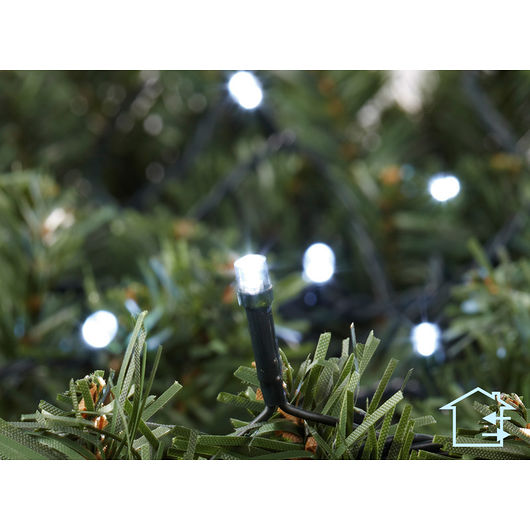 Lyskæde 80 LED varm hvid