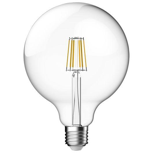 Cosna filamentpære 8,6W E27 G120 - dæmpbar