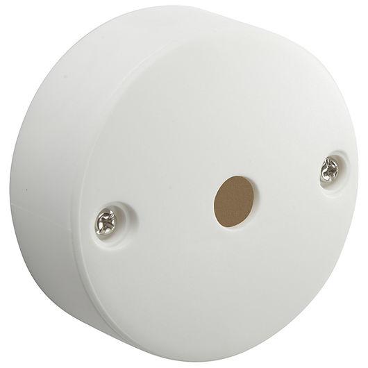 Udløbsroset Ø. 75 mm 5-leder hvid
