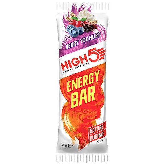 HIGH5 energibar - berry/yoghurtsmag 55 g