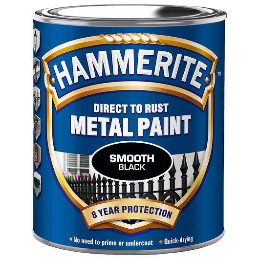 Hammerite 750 ml sort