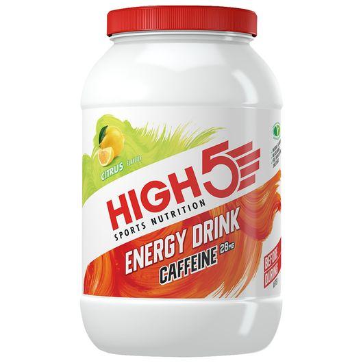 HIGH5 energidrik/-pulver - citrus og koffein 2,2kg