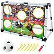 Toyhouse - Fodboldmål komplet med front-79,5x120cm thumb