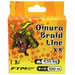 FTM Omura - Fletline X8 0,10 100m - Gul thumb